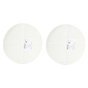 Beldray® BEL01209 Spinmax Cordless Floor Cleaner Replacement Polishing Pads | Ideal for Wood or Hard Floor Surfaces | White | Set Of 2 | Machine Washable Thumbnail 2