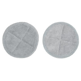 Beldray® BEL01210 Spinmax Cordless Floor Cleaner Replacement Cleaning Pads | Ideal for Wood or Hard Floor Surfaces | Grey | Set Of 2 | Machine Washable