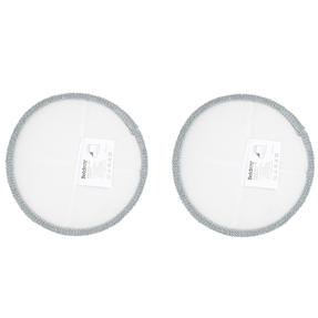 Beldray® BEL01210 Spinmax Cordless Floor Cleaner Replacement Cleaning Pads | Ideal for Wood or Hard Floor Surfaces | Grey | Set Of 2 | Machine Washable Thumbnail 2