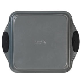 Russell Hobbs® RH01913EU Pearlised Square Pan| Non-Stick | Carbon Steel | 27cm | Silicone Handles | Matte Grey Thumbnail 4