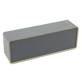 Intempo® EE4453GRYSTKEU Urban WDS111 Bluetooth Speaker | Portable | 14 Hours Play Time | Stereo Sound | Grey