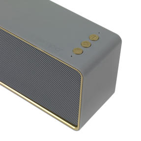 Intempo® EE4453GRYSTKEU Urban WDS111 Bluetooth Speaker | Portable | 14 Hours Play Time | Stereo Sound | Grey Thumbnail 3