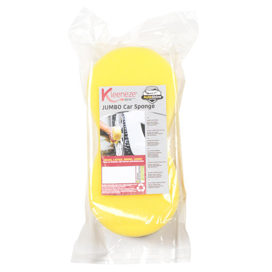 Kleeneze® Jumbo Car Sponge | Highly Absorbent | Cleans Large Areas