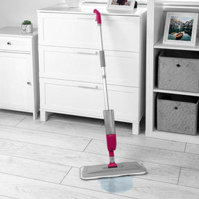 Kleeneze® KL081810EU7 Deep Clean 4 in 1 Spray Mop with Grout Brush Attachment | 300 ml Refillable Spray Tank | 120 cm Handle | 3 Multifunctional Cleaning Pads Included Thumbnail 2