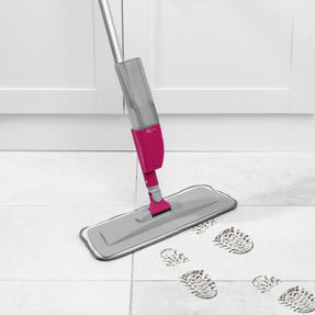 Kleeneze® KL081810EU7 Deep Clean 4 in 1 Spray Mop with Grout Brush Attachment | 300 ml Refillable Spray Tank | 120 cm Handle | 3 Multifunctional Cleaning Pads Included Thumbnail 3