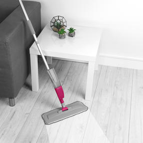 Kleeneze® KL081810EU7 Deep Clean 4 in 1 Spray Mop with Grout Brush Attachment | 300 ml Refillable Spray Tank | 120 cm Handle | 3 Multifunctional Cleaning Pads Included Thumbnail 4