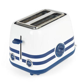 Prestige 46019 2 Slice Toaster with Removable Crumb Tray   Cancel and Defrost Function   Vintage Blue Thumbnail 7