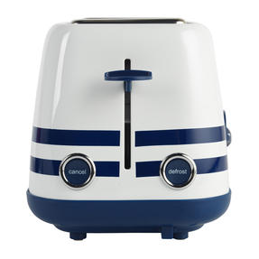 Prestige 46019 2 Slice Toaster with Removable Crumb Tray   Cancel and Defrost Function   Vintage Blue Thumbnail 9