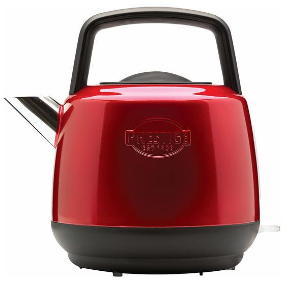 Prestige 46266 Heritage Kettle | Red | Non-Slip Feet | Fast Boil | Stay Cool Handles