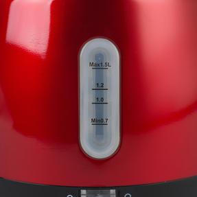 Prestige 46266 Heritage Kettle | Red | Non-Slip Feet | Fast Boil | Stay Cool Handles Thumbnail 6