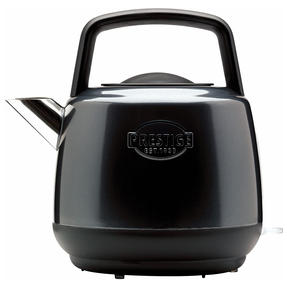Prestige 46269 Heritage Kettle | Grey | Non-Slip Feet | Fast Boil | Stay Cool Handles