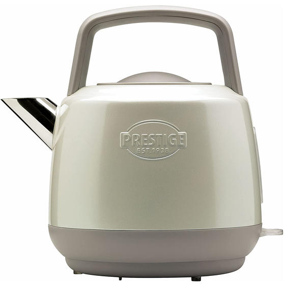 Prestige 46268 Heritage Kettle   Almond   Non-Slip Feet   Fast Boil   Stay Cool Handles