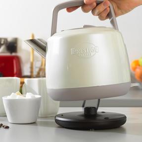 Prestige 46268 Heritage Kettle   Almond   Non-Slip Feet   Fast Boil   Stay Cool Handles Thumbnail 3