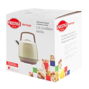 Prestige 46268 Heritage Kettle   Almond   Non-Slip Feet   Fast Boil   Stay Cool Handles Thumbnail 8