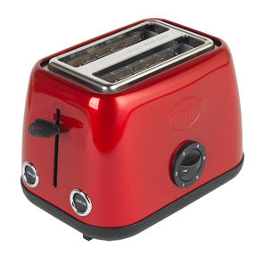 Prestige 46269 2 Slice Toaster with Removable Crumb Tray   Cancel and Defrost Function   6 Variable Browning Options   Heritage Red Thumbnail 6
