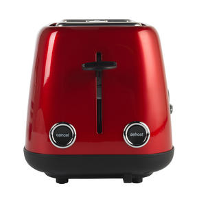 Prestige 46269 2 Slice Toaster with Removable Crumb Tray   Cancel and Defrost Function   6 Variable Browning Options   Heritage Red Thumbnail 7