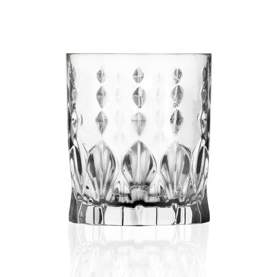 RCR 27277020006 Marilyn Short Whiskey and Water Tumbler Glasses, Dishwasher Safe, 340 ml, Set of 6