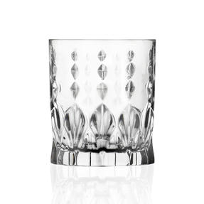 RCR 27277020006 Marilyn Short Whiskey and Water Tumbler Glasses, Dishwasher Safe, 340 ml, Set of 6
