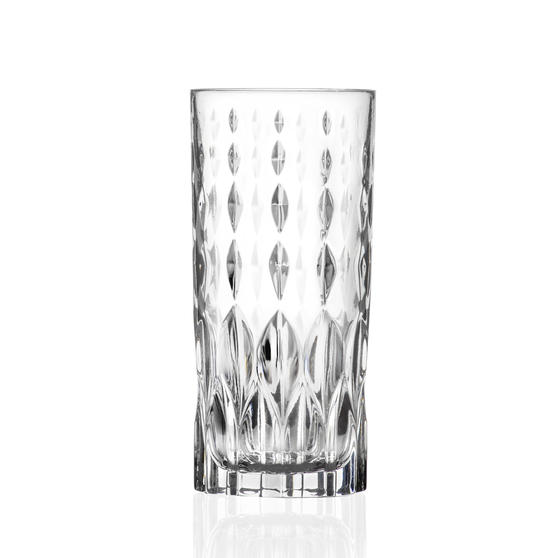 RCR 27278020006  Marilyn  Hi-Ball Cocktail Tumbler Glasses, Dishwasher Safe, 350 ml, Set of 6