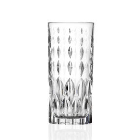 RCR 27278020006  Marilyn  Hi-Ball Cocktail Tumbler Glasses, Dishwasher Safe, 350 ml, Set of 6 Thumbnail 1