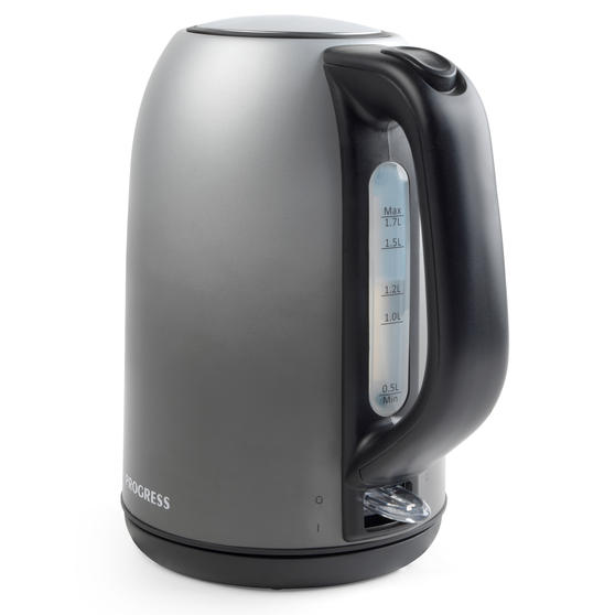Progress® EK4331PMETOMBRE Ombre Mist Jug Kettle | 1.7 L | 3000 W | Rapid Boil | Anti-Limescale Filter | Boil-Dry Sensor | Grey