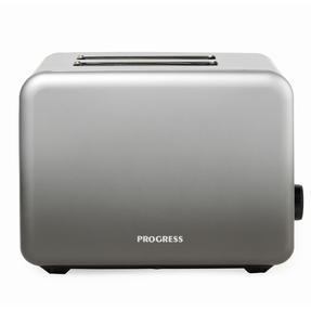 Progress® EK4332PMETOMBRE Ombre Mist 2-Slice Toaster | 930W |  6 Levels Of Browning Control | Indicator Lights & Wide Slots For Bagels, Crumpets & More | Grey Thumbnail 5