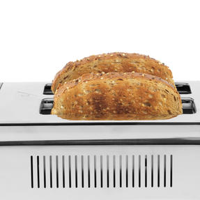 Salter® EK4324MATOMBRE Gradient Ombre 2-Slice Toaster | 870W |  6 Levels Of Browning Control | Indicator Lights & Wide Slots For Bagels, Crumpets & More | Grey/Stainless Steel Thumbnail 5