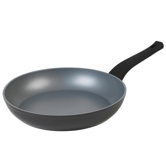 Russell Hobbs® RH01699EU Pearlised Forged Aluminium Frying Pan | 28cm | Whitford Non-Stick Coating | Suitable for All Hob Types Including Induction | Matte Grey
