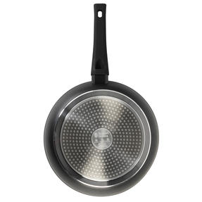 Russell Hobbs® RH01699EU Pearlised Forged Aluminium Frying Pan | 28cm | Whitford Non-Stick Coating | Suitable for All Hob Types Including Induction | Matte Grey Thumbnail 3