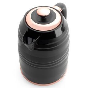 Progress® EK4126PBRG Jupiter Jug Kettle With Swirl Effect Finish | 1.7 L | 3000 W | Rapid Boil | Boil-Dry Sensor | Black/Rose Gold Thumbnail 4