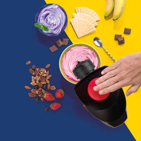Giles & Posner® EK4002V2 Frozen Dessert Maker   250 W   Quick and Easy to Use   Removable Plate  Create Delicious and Healthy Desserts Thumbnail 5