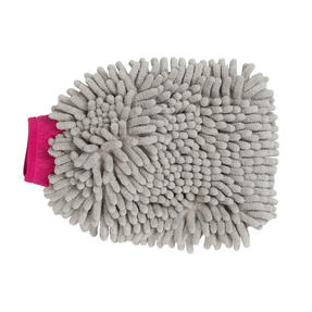Kleeneze® KL082336EU7 Double Sided Premium Car Mitt | Perfect for Interior and Exterior | Grey and Pink Thumbnail 3