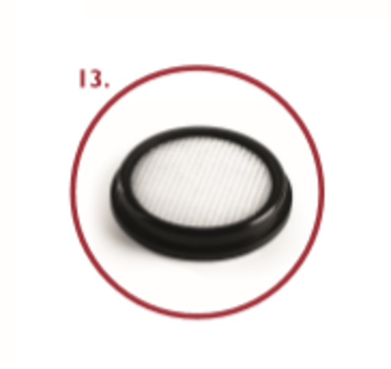 Spare/Replacement Filter for Beldray BEL0769 Quick Vac Lite Vacuum Cleaner