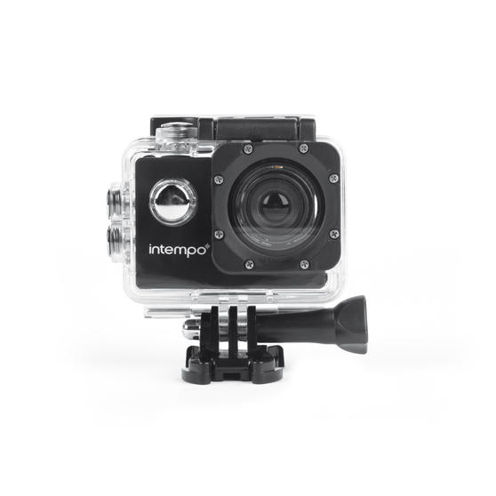 Intempo EE5450BLKSTKEU7V2 Sync Waterproof Wide Angle HD Action IPX8 Camera | High Definition | 1080p Video Resolution | USB | Self Timer Function | Waterproof Up to 30 M