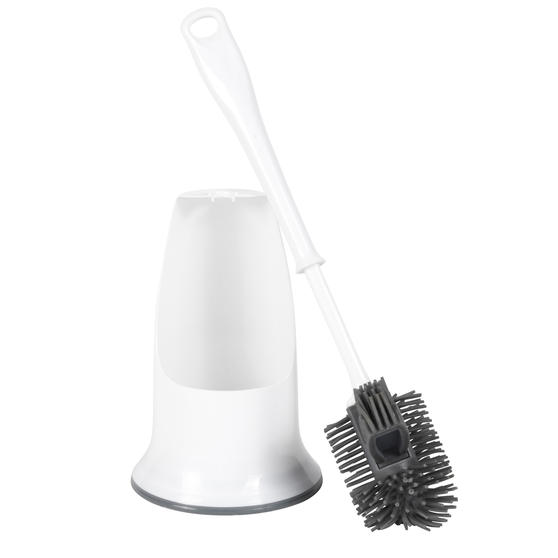 Beldray® LA084538UFEU7 Antibac Silicone Toilet Brush, Treated with Antibacterial Protection