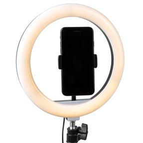 Intempo® EE5976KBLKSTKEU7V2 Standing Selfie Light With Phone Holder, 3 Light Modes, 26 cm Light Ring Thumbnail 3