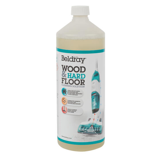 Beldray® BEL0468V3AZ Wood and Hard Floor Cleaning Solution, Compatible with BEL0908, 1 Litre