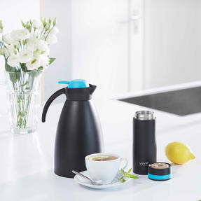 Vivo PS0072 Coffee Pot, 1.5 L Capacity, Stainless Steel Thumbnail 5