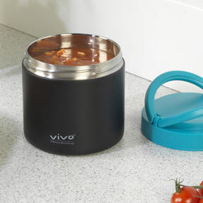 Vivo PS0071 Lunchbox for Hot or Cold Food, Ideal for Picnics and Outdoor Dining, 750 ml, Stainless Steel Thumbnail 4