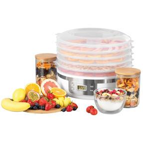 Progress® EK4426P Digital Food Dehydrator | 350 W | 7.5 L | Perfect for Healthy Dried Snacks | Digital LCD Display | 48 Hour Adjustable Timer