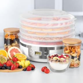 Progress® EK4426P Digital Food Dehydrator | 350 W | 7.5 L | Perfect for Healthy Dried Snacks | Digital LCD Display | 48 Hour Adjustable Timer Thumbnail 2