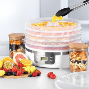 Progress® EK4426P Digital Food Dehydrator | 350 W | 7.5 L | Perfect for Healthy Dried Snacks | Digital LCD Display | 48 Hour Adjustable Timer Thumbnail 3