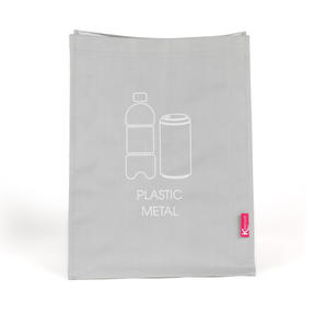Kleeneze KL068132EU7 Set of 3 Recycling Bags for Cardboard/Paper, Metal/Plastic and Glass Thumbnail 4