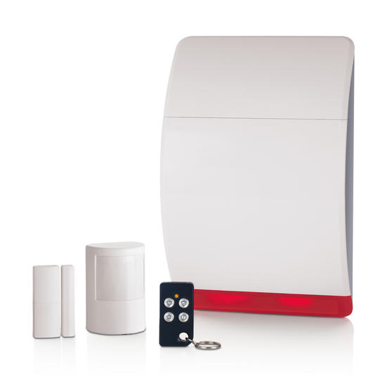 Honeywell HS311S Wireless Quick Start Alarm with Remote Control Fob