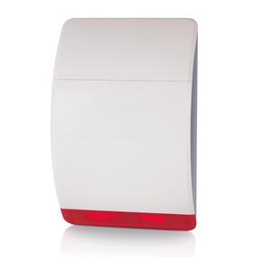 Honeywell HS3BS1S Wireless Battery Siren, Easy to Install, Loud Alert, Links to Honeywell Home Alarm, Visible LED Flashing Light Thumbnail 1