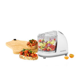 Progress® EK2182P Mini Chopper Pro, 150W, 350 ml, Ideal For Meats, Vegetables & Nuts, Handy Feed Opening For Oils, Dressings & Spices