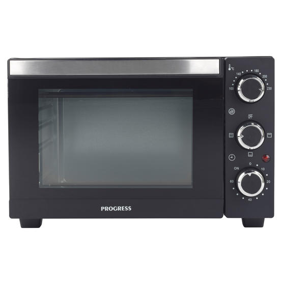 Progress® EK4359P 15 Litre Toaster Oven | Compact Design | Variable Temperature Control | 60-Minute Timer | Automatic Safety Shut-Off