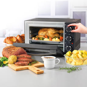 Progress® EK4359P 15 Litre Toaster Oven | Compact Design | Variable Temperature Control | 60-Minute Timer | Automatic Safety Shut-Off Thumbnail 2