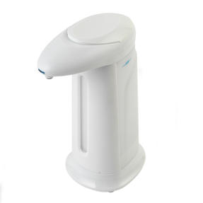 Beldray LA087911EU7 Automatic Soap Hand Sanitiser Dispenser, 350 ml, Touchless Design, Easy Twist Off Lid, Infrared Sensor
