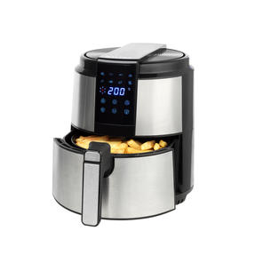Salter EK4627 5 Litre Hot Air Fryer, 1500 W, 60-Minute Timer, Touch-Sensitive Display, Automatic Shut Off, Ideal for Healthier Fried Food